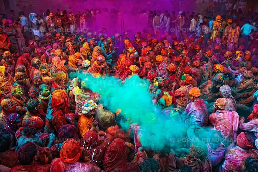Holi Indien