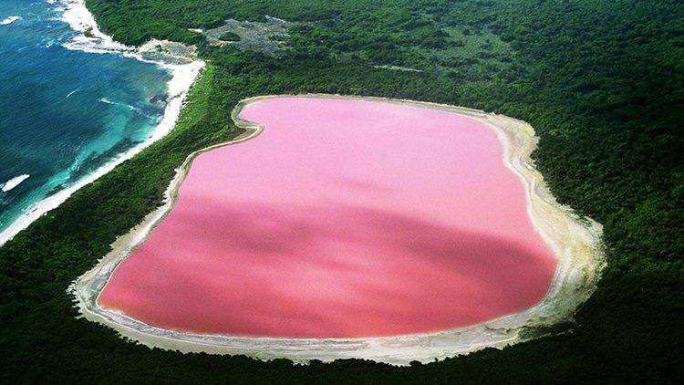 Lake Retba Senegal