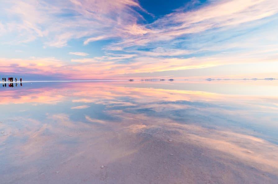 Salar Uyuni Bolivien