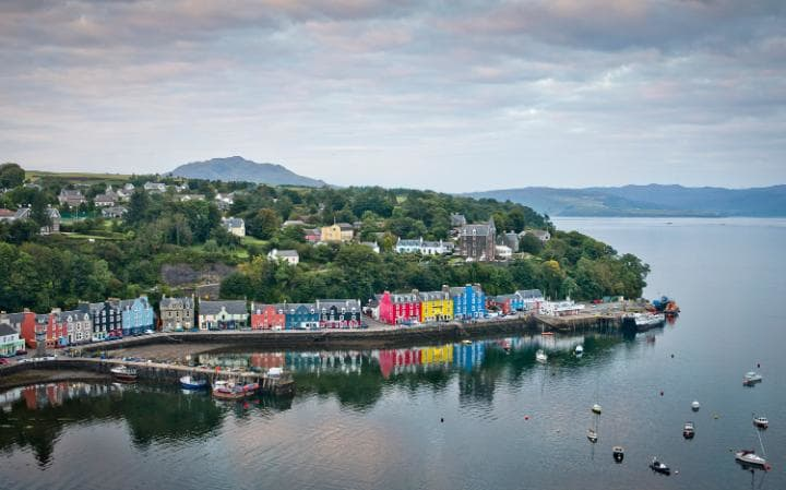 Tobermory Schottland